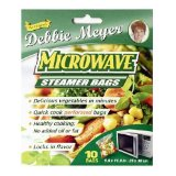 Debbie Meyer Microwave Steamer Bags 4 ea (Pack of 2)