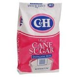 C&H Pure Cane Granulated White Sugar, 25-Pound Bags